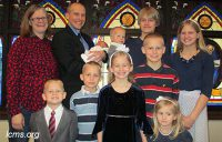 missionary family clausing