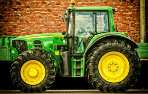 Drive Tractor To Church