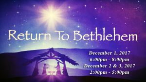 Return to Bethlehem at Lord of Life Lutheran Church