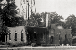 KFUO History --- The Original KFUO Radio Building on the Concordia Seminary grounds, Clayton, MO