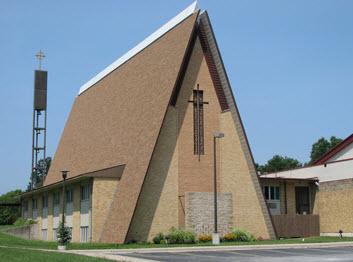 Trinity Lutheran Church in Columbia, Missouri