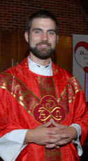 Rev. Sam Beltz of St. John's Lutheran Church in Oskaloosa, Iowa
