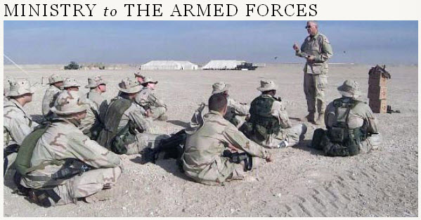 Ministering to the Armed Forces