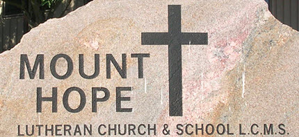 Mt. Hope Lutheran. School in Casper, Wyoming