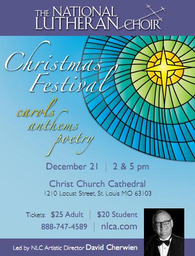 National Lutheran Choir Christmas 2013