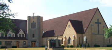 St. Paul Lutheran Church in Webster City, Iowa, with Rev. Mark Eichler.