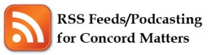 RSS Feed for Concord Matters