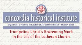 Concordia Historical Institute Sponsor Image