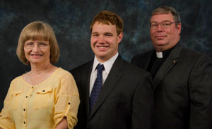 Rev. Leif, Nancy and Christopher Hasskarl