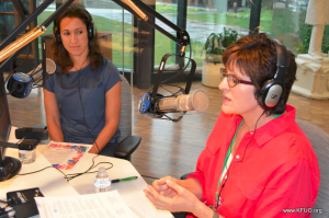 Thirza Sayers and Jennifer Blome on KFUO's Faith'n'Family