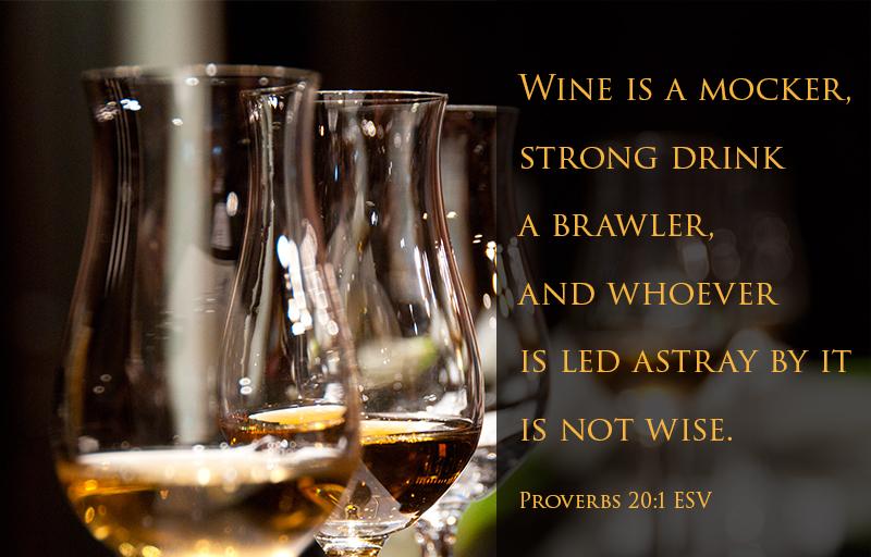 Proverbs 20:1