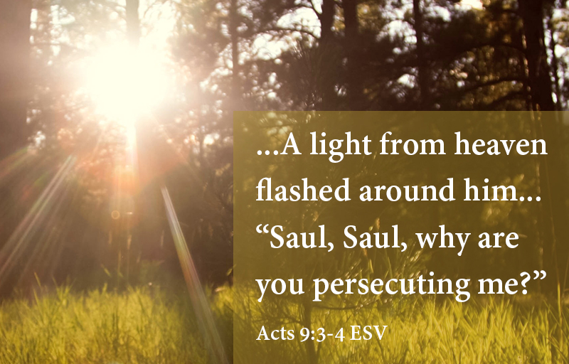 Acts 9:3-4