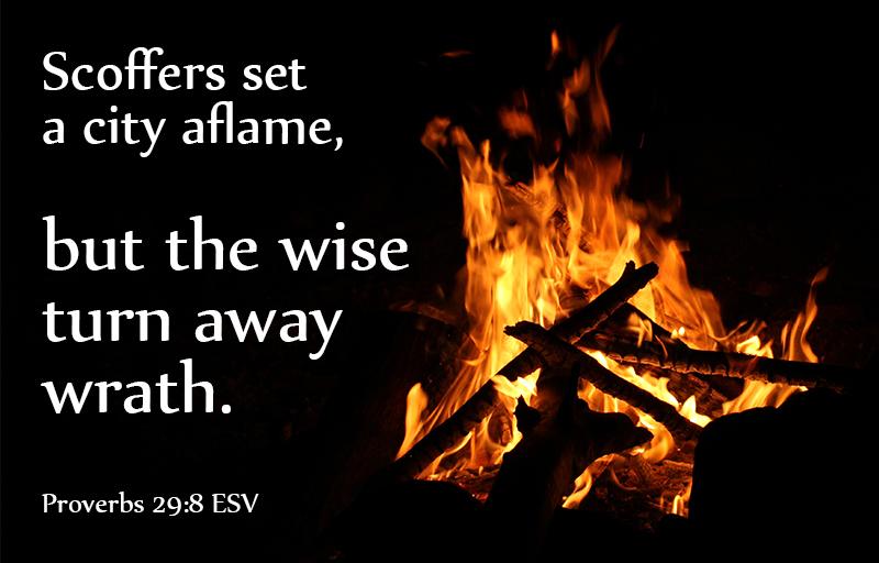 Proverbs 29:8