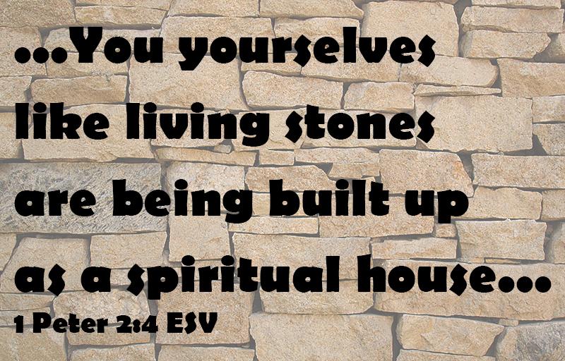 1 Peter 2:4