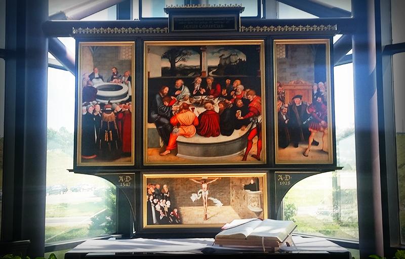 liturgical art altarpiece