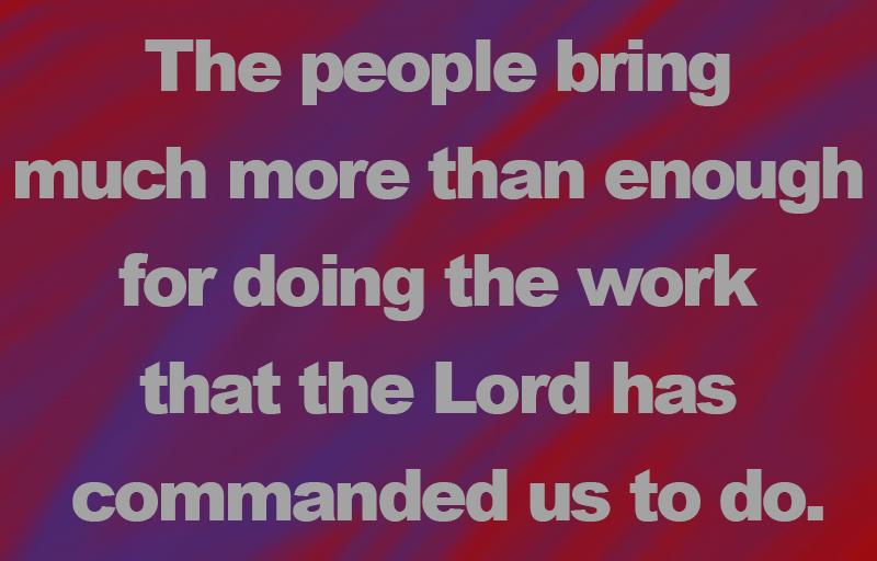 Exodus 36