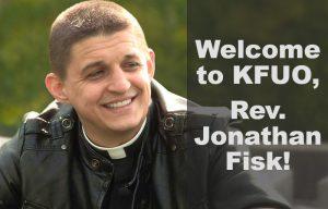 Welcome Rev Fisk