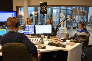 KFUO staff in studio