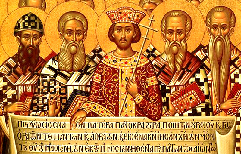 Luther Freedom Council Nicaea Icon