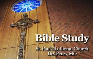 St. Paul's Des Peres Bible Study