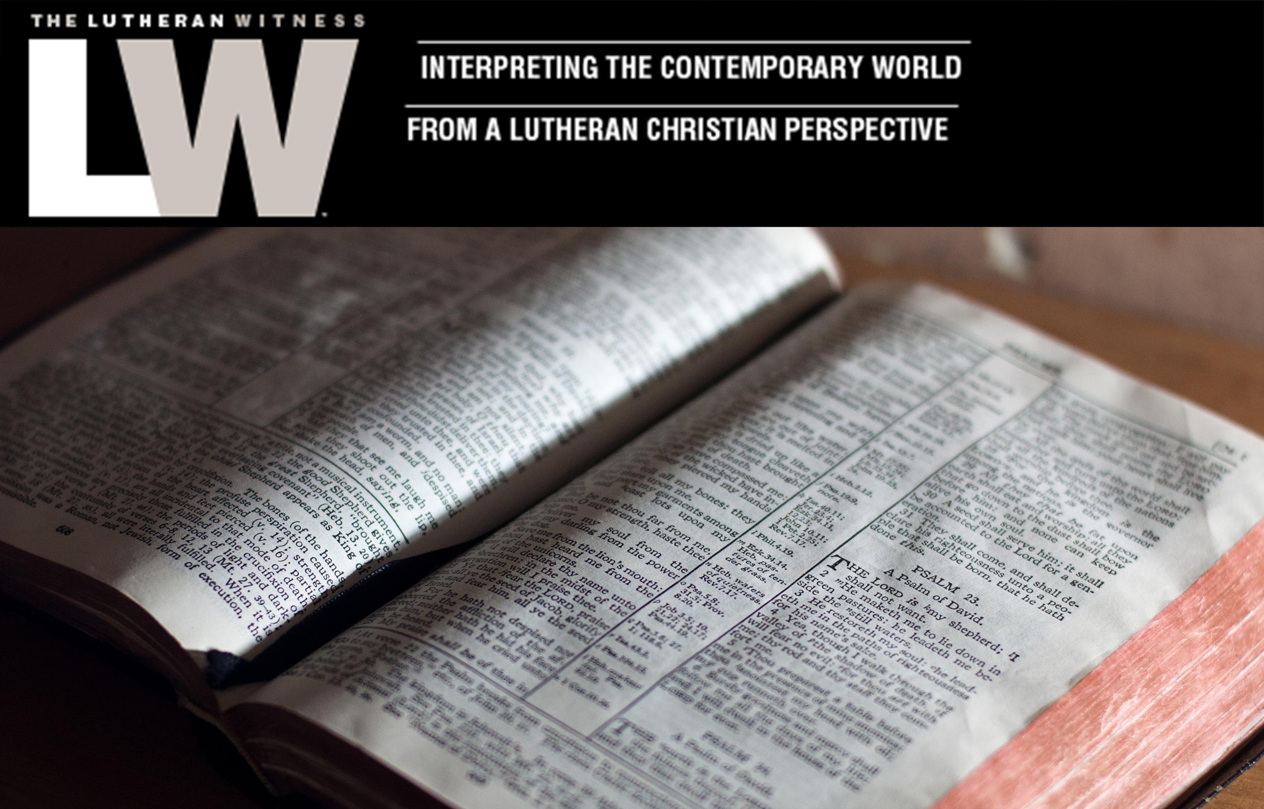 Adriane Heins Lutheran Witness