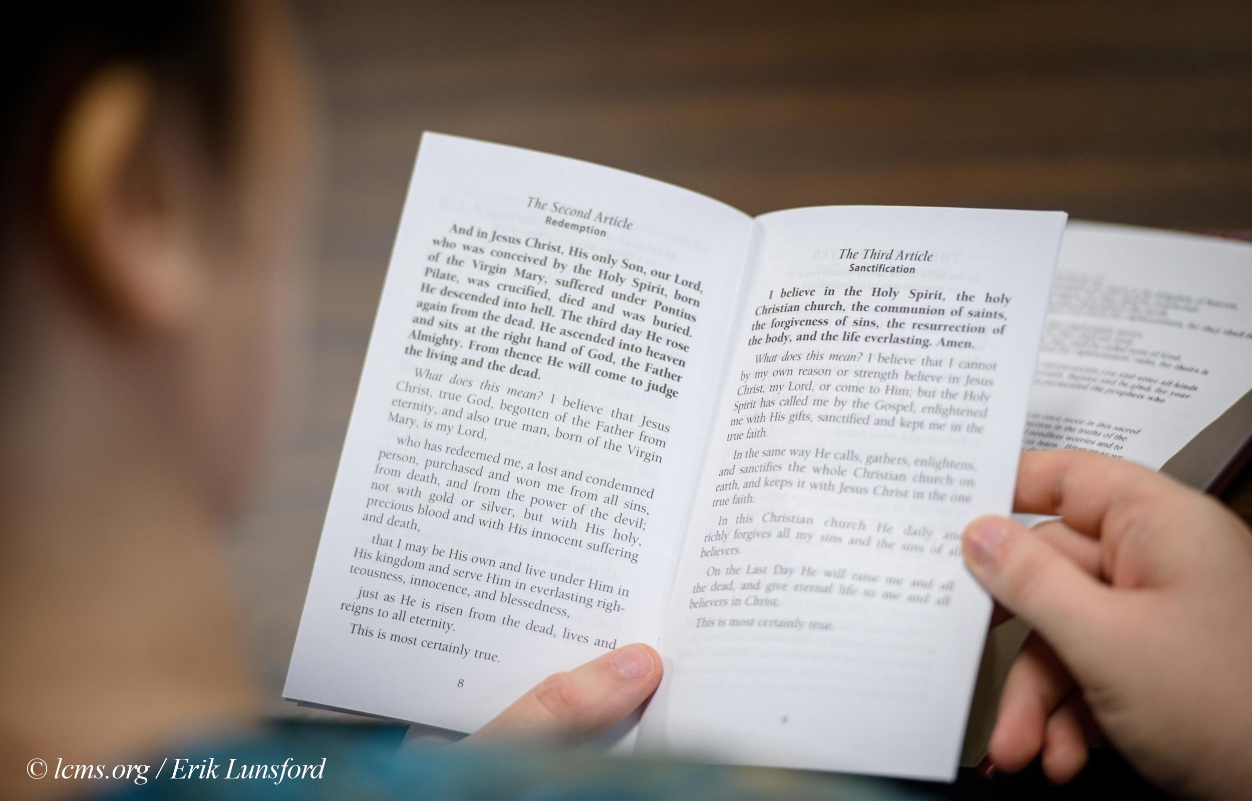 Memorizing Catechism Adult