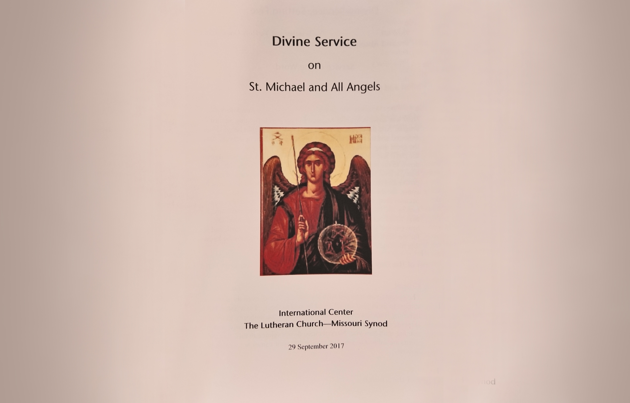St Michael And All Angels Homily