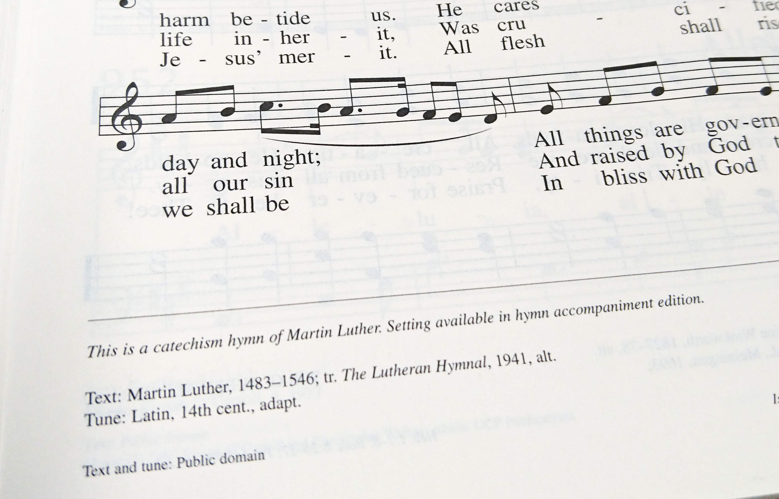 Faith & Family - October Lutheran Witness: Luther's Hymns