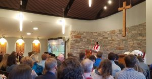 Reformation at University Lutheran Chapel in West Lafayette, Indiana, with Rev. Justin Herman.