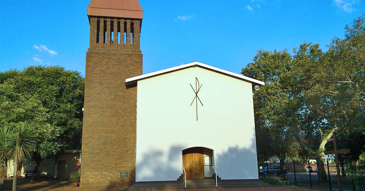 St. Paul's German Lutheran Church in Pretoria, South Africa.