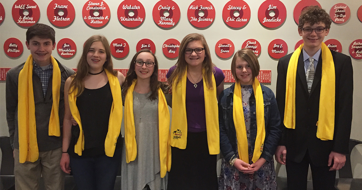 Six students from Word of Life Lutheran School in St. Louis, MO, placed in the top 10 in the CEAM Poetry Contest. /Word of Life Lutheran School