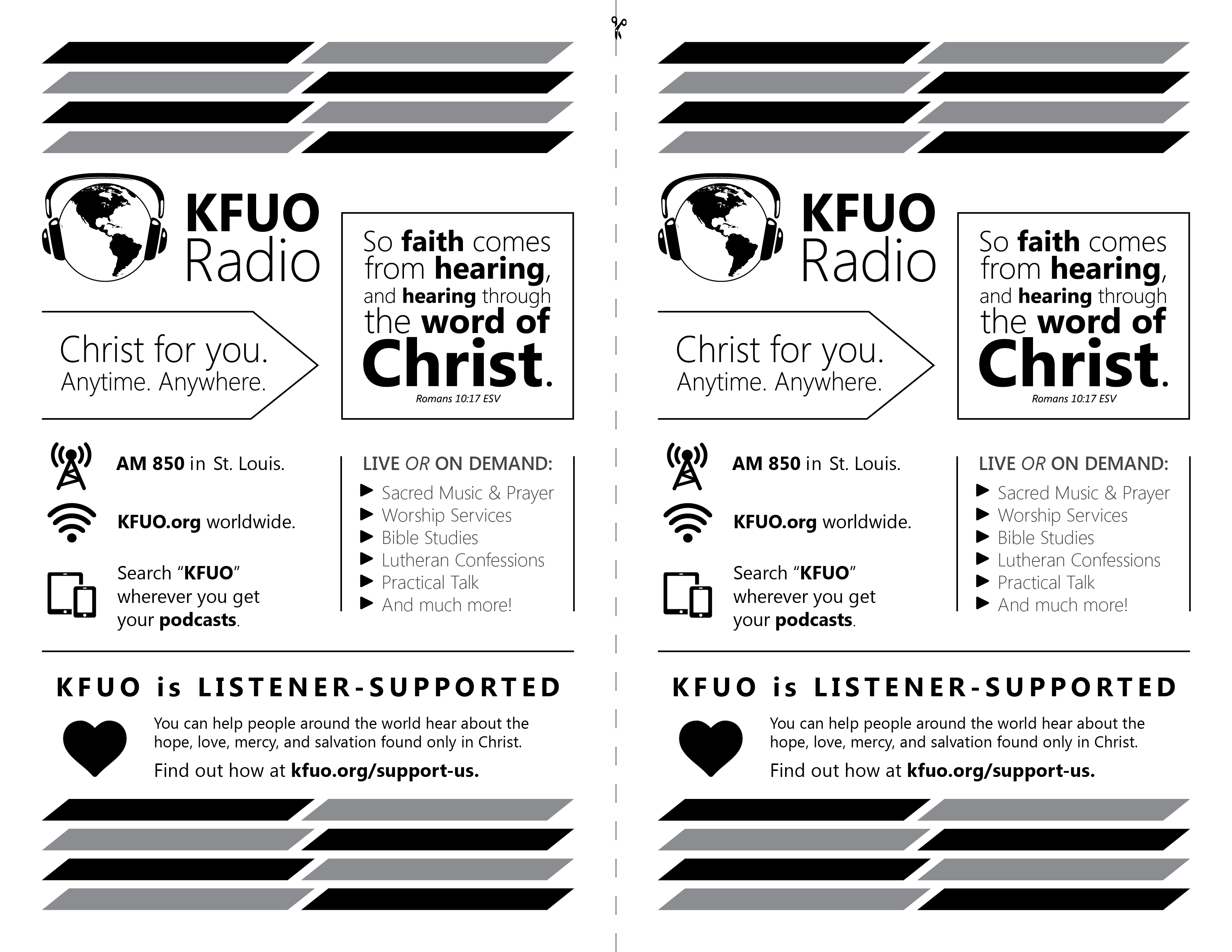 Church School Bulletin Information Kfuo Radio