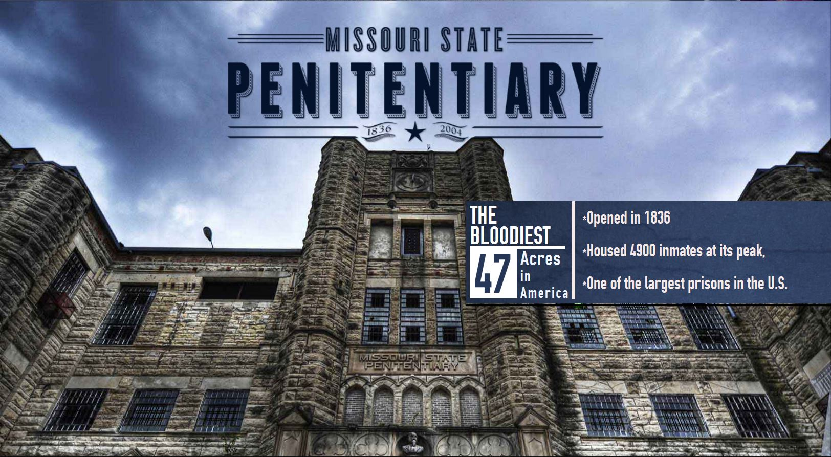 Visit the Missouri State Penitentiary website for more details!
