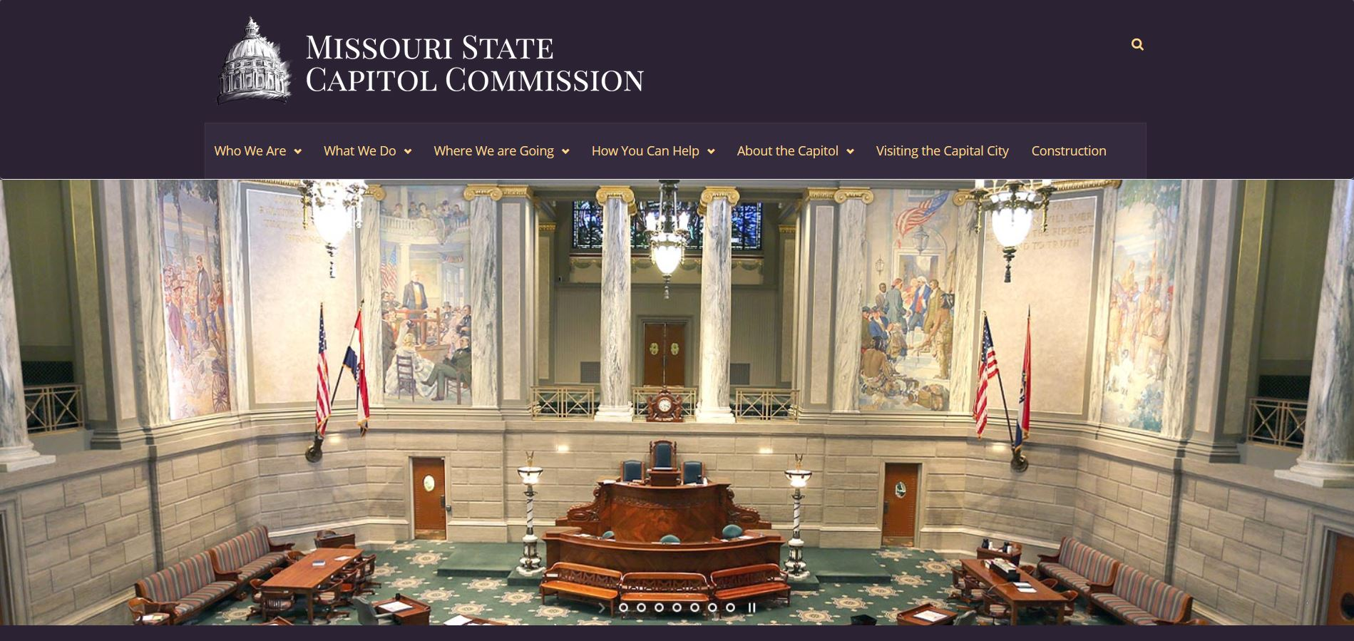 Visit the Missouri State Capitol Commission website to learn more about our state's capitol!