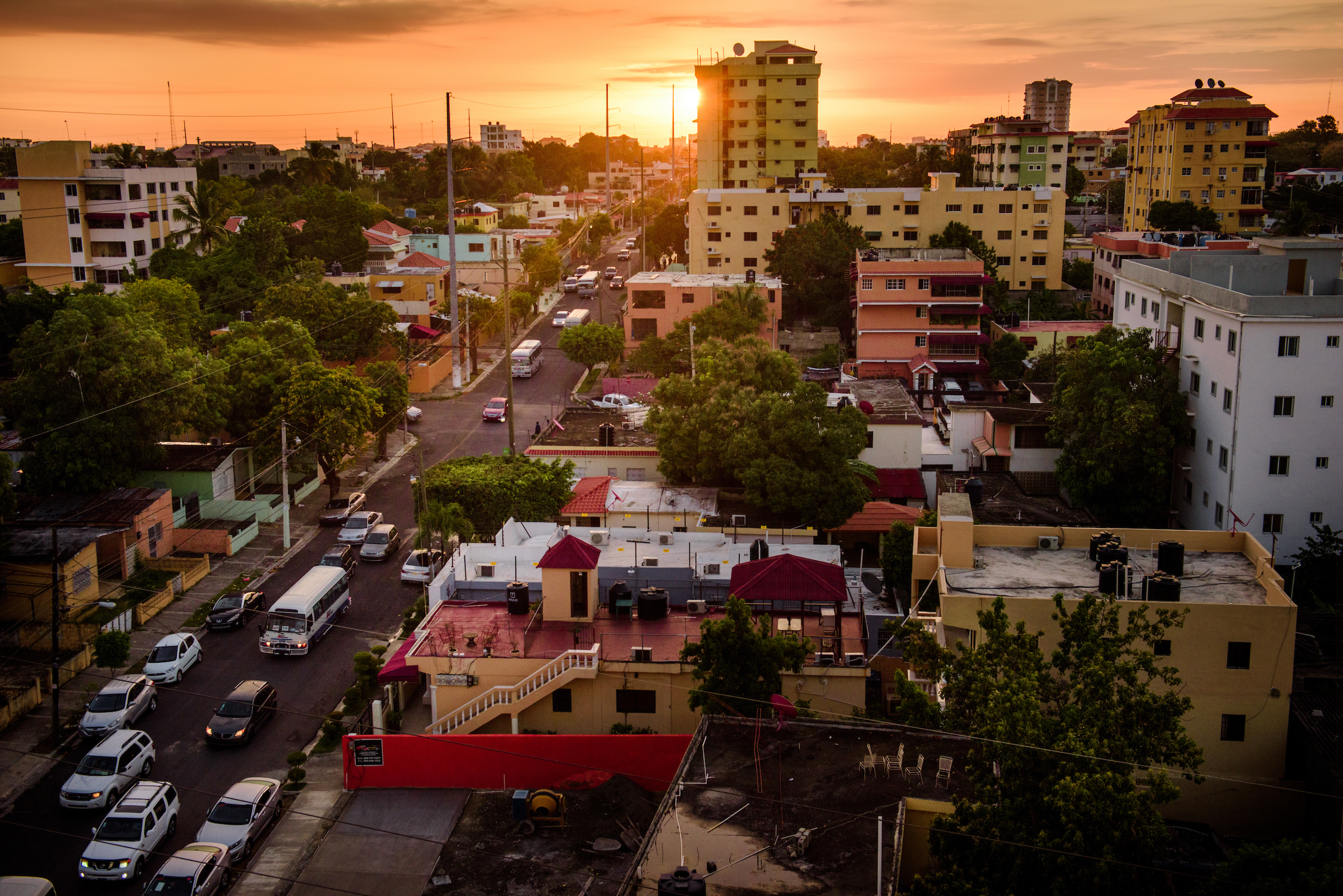 Sunrise in Santo Domingo, Dominican Republic, on Monday, March 20, 2017. LCMS Communications/Erik M. Lunsford