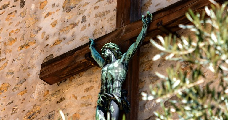 Sharper Iron & The New Covenant: Real, True Crucifixion