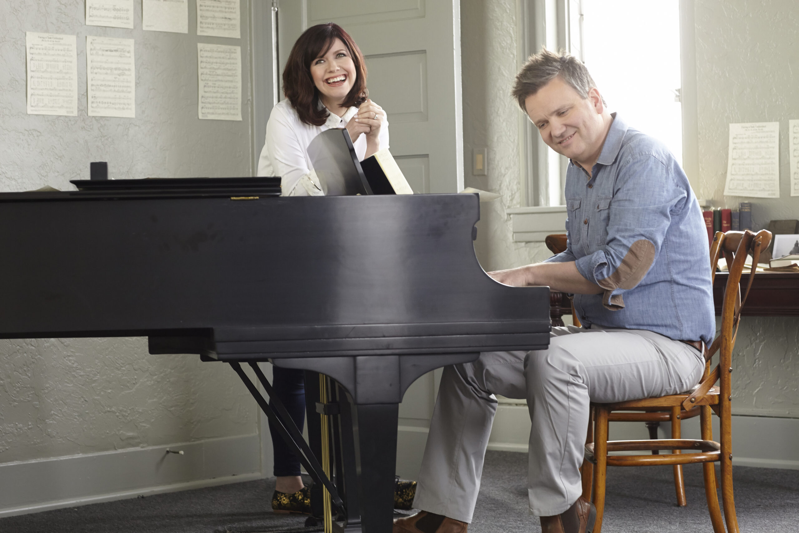 Keith and Kristyn Getty, modern hymn writers. Used with permission