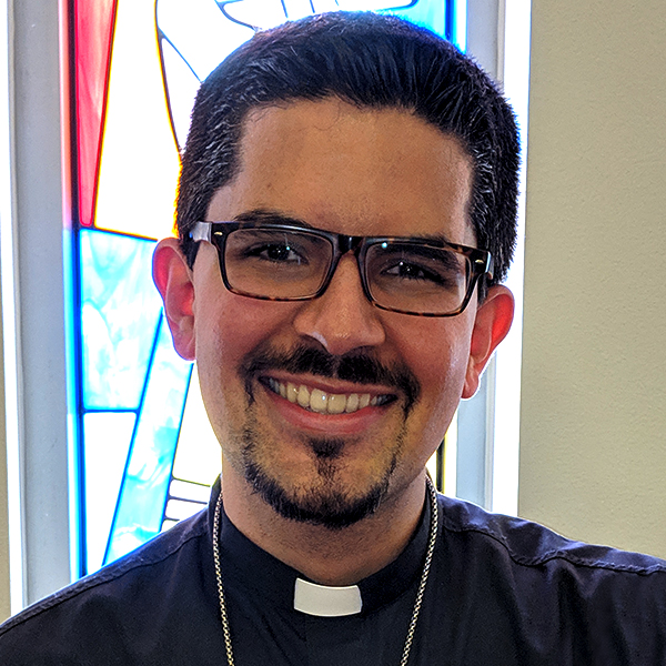 The Rev. AJ Espinosa, host of Thy Strong Word.