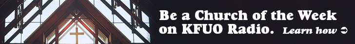 Be a Church of the Week on KFUO Radio