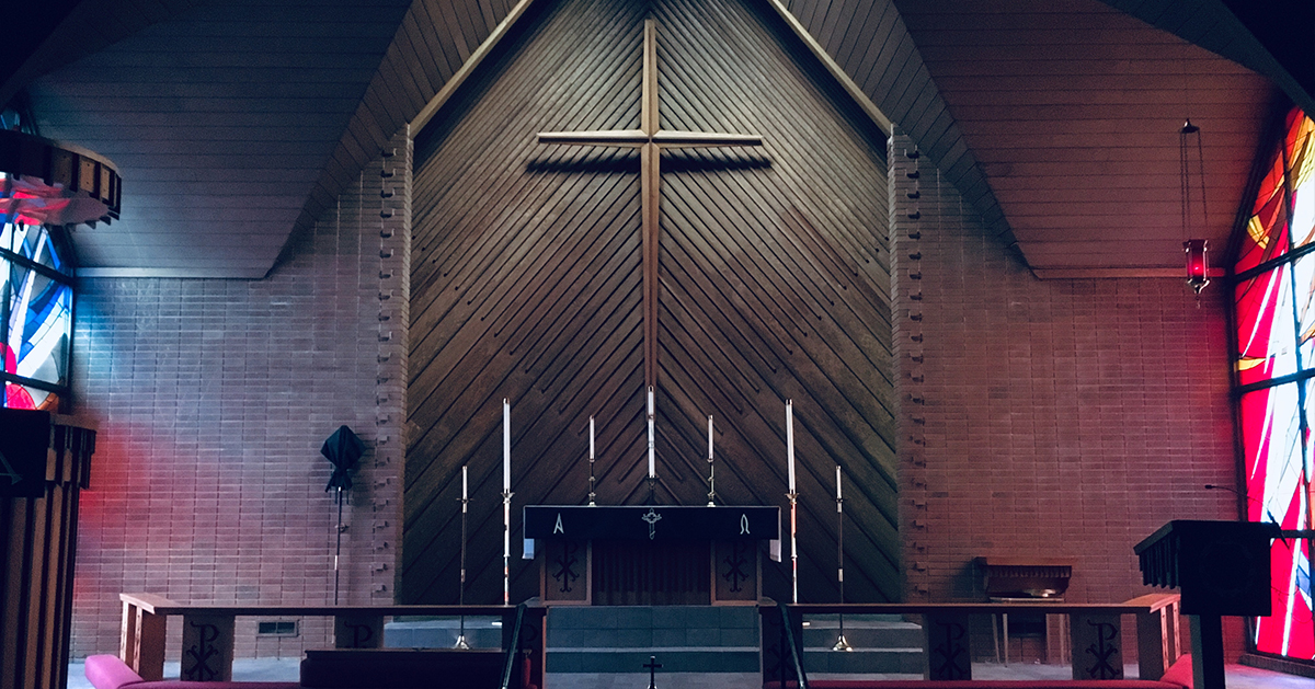 Photo by Joshua Eckstein on Unsplash: Our Redeemer Lutheran Church in Augusta, Georgia.