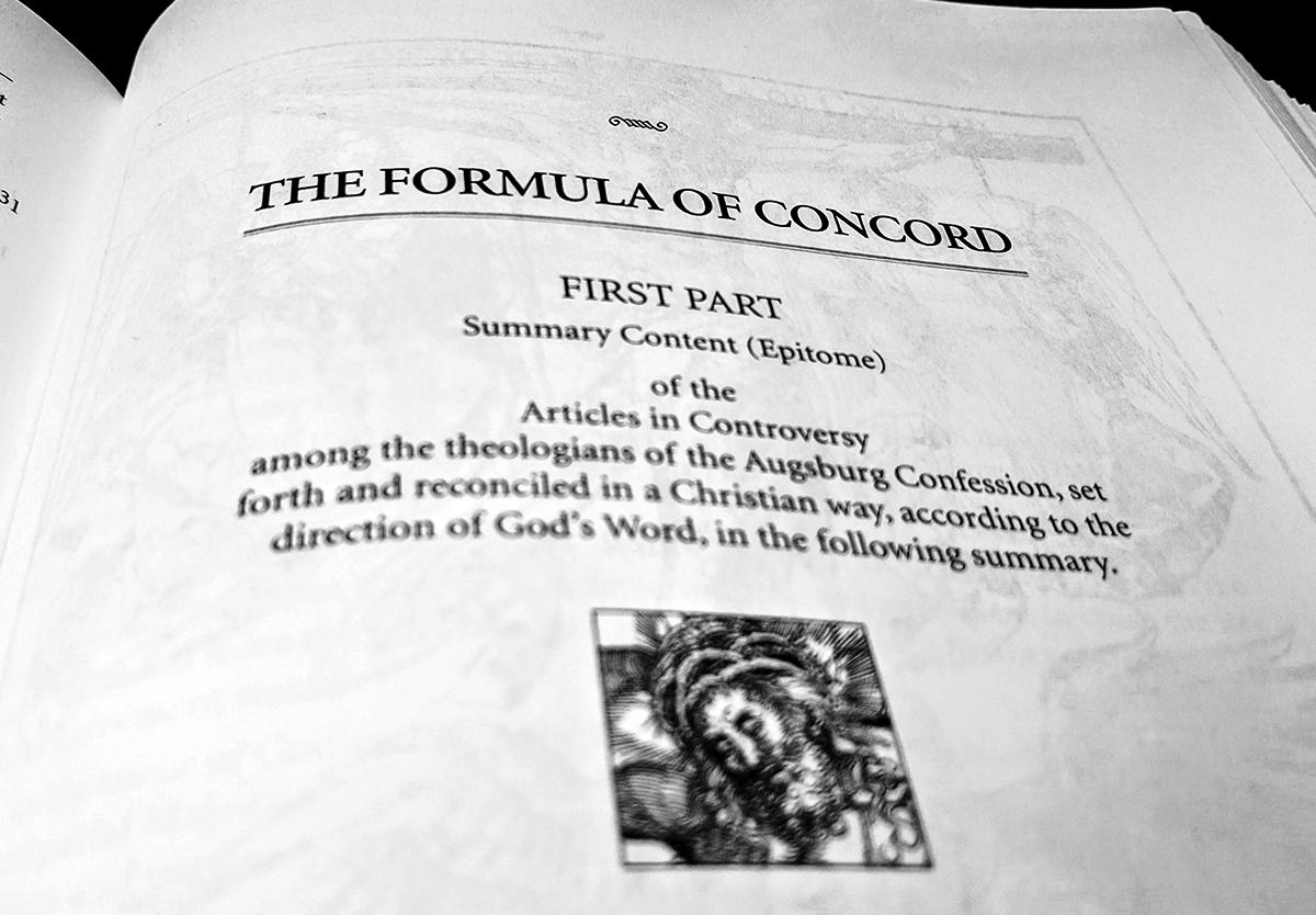 Formula of Concord