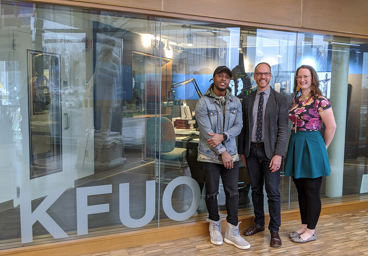 Hip-hop artist FLAME joins Andy and Sarah for The Coffee Hour