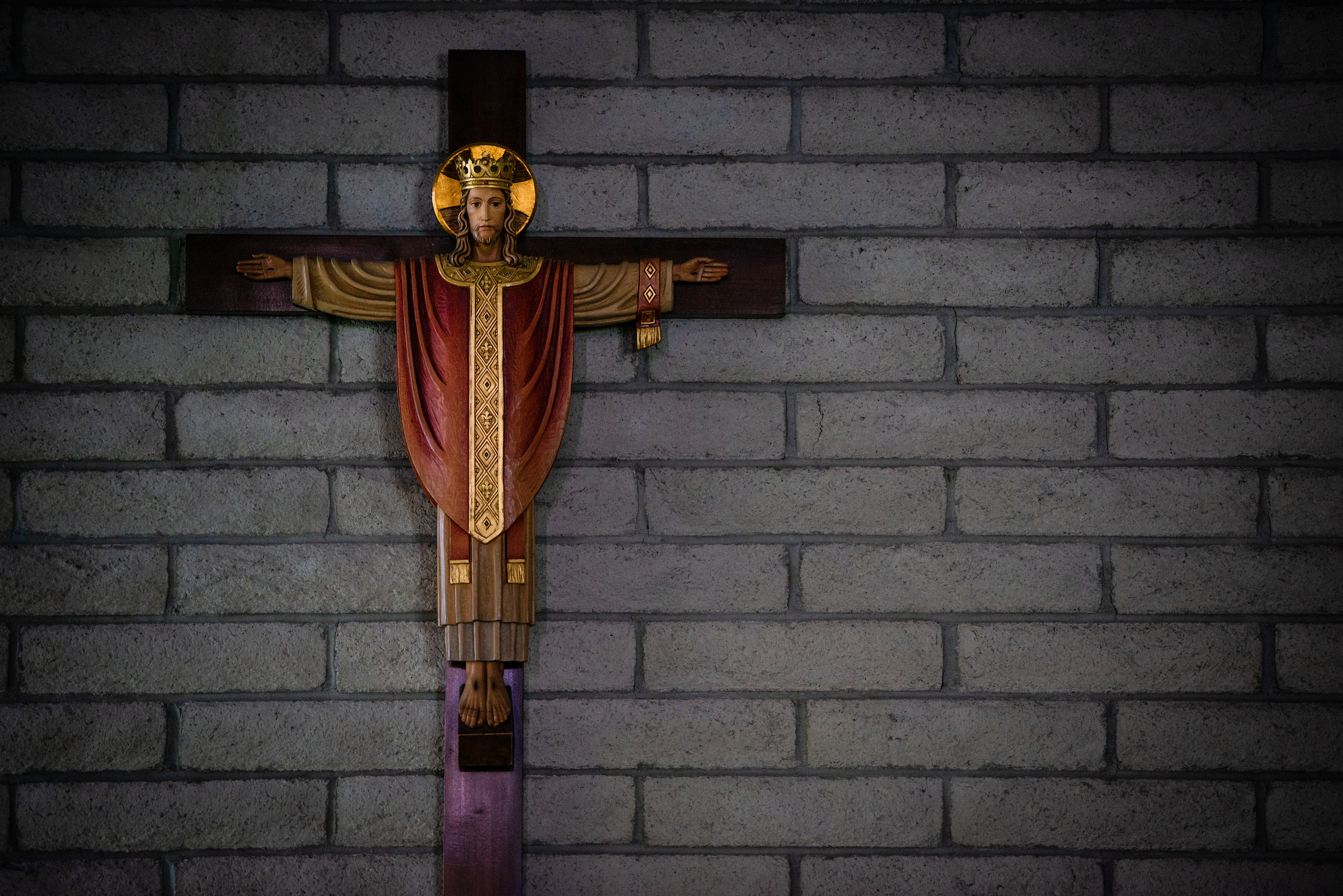 A crucifix at First Good Shepherd Lutheran Church, Las Vegas, on Wednesday, Nov. 28, 2018. LCMS Communications/Erik M. Lunsford
