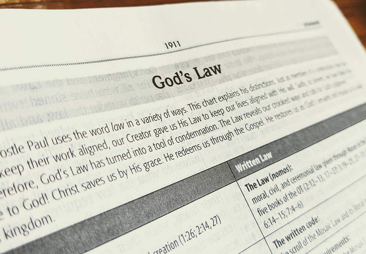Law Gospel Romans